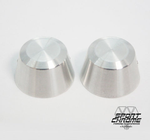 Machined Axle Covers