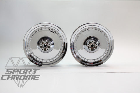 Have your Fatboy Wheels Chrome Plated