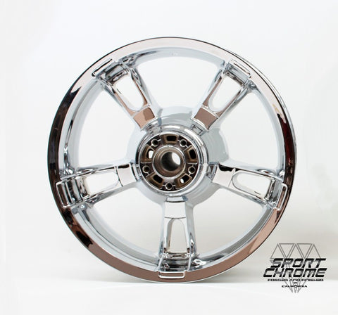 Enforcer Chrome Rear Wheel