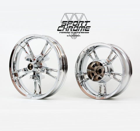 Enforcer Chrome Wheels