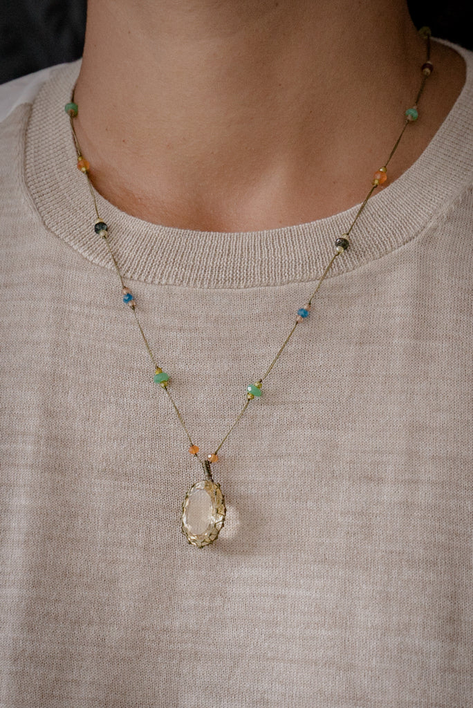 Tibetan Necklaces Short