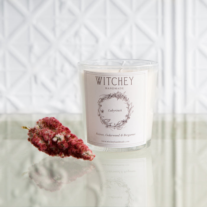 Witchey Handmade Labyrinth Candle