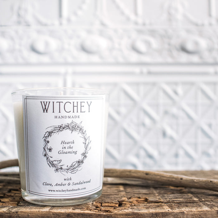 Witchey Handmade Hearth in the Gloaming Candle