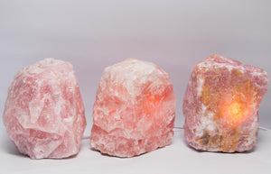 Rose Quartz Lamp