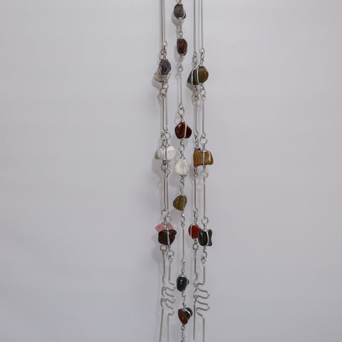 Assorted Gemstone Windchime - Crystal Geological