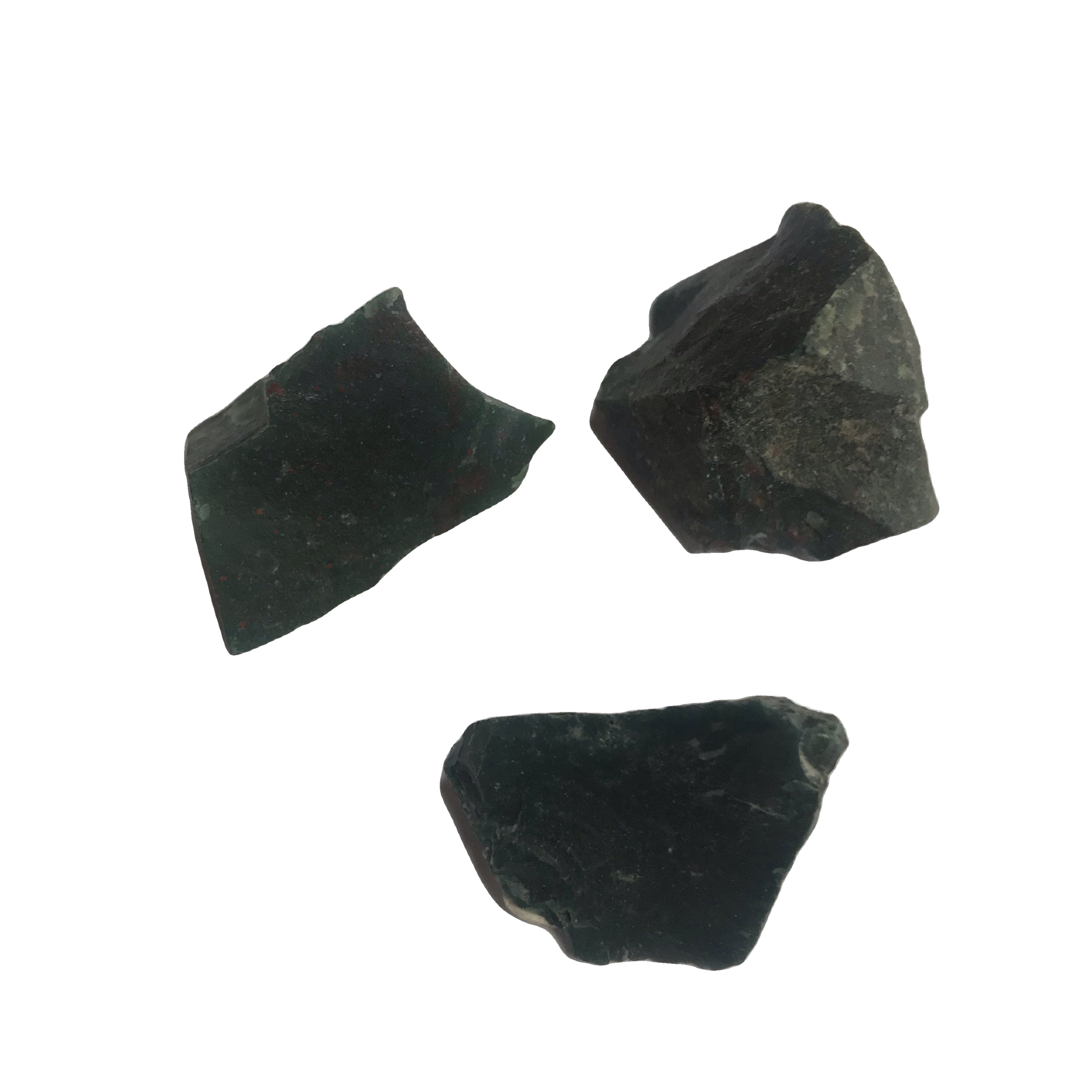 Bloodstone Rough pieces - Crystal Geological