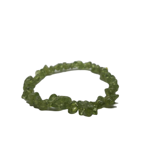 Peridot Bracelet - Crystal Geological