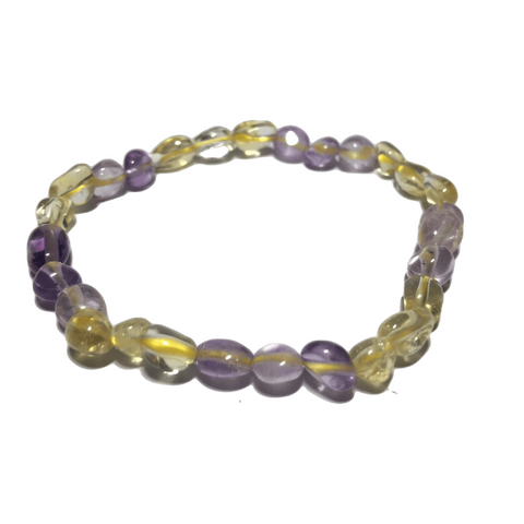 Amethyst and Citrine Bracelet - Crystal Geological