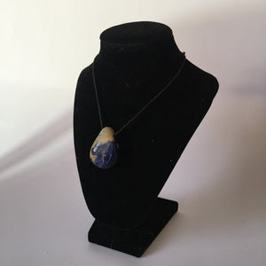 Sodalite Tumble Stone Necklace - Crystal Geological
