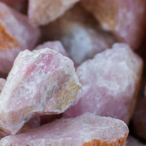 Rough Rose Quartz - Crystal Geological