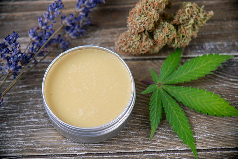 skin cream made with hemp oil