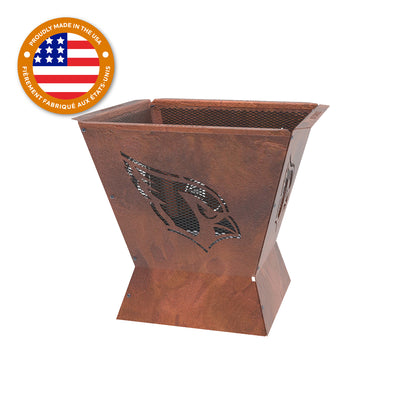 Arizona Cardinals Badlands 29.5 in. Square Fire Pit