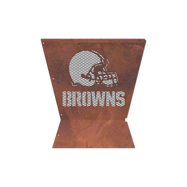 Cleveland Browns Badlands 29.5 in. Square Fire Pit