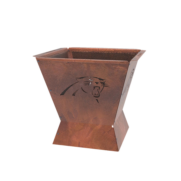 Carolina Panthers Badlands 29.5 in. Square Fire Pit