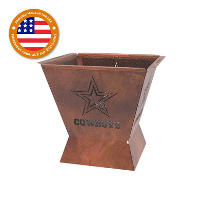 Dallas Cowboys Badlands 29.5 in. Square Fire Pit