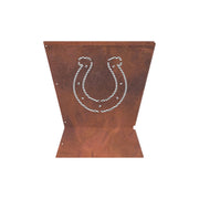 Indianapolis Colts Badlands 29.5 in. Square Fire Pit