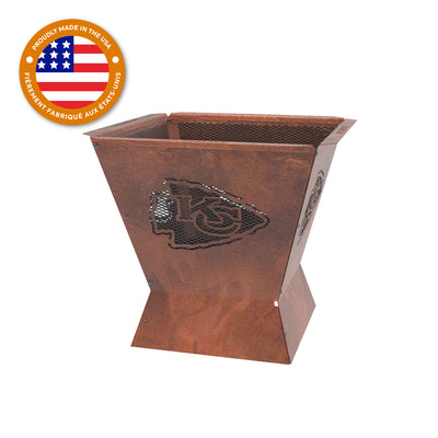Kansas City Chiefs Badlands 29.5 in. Square Fire Pit