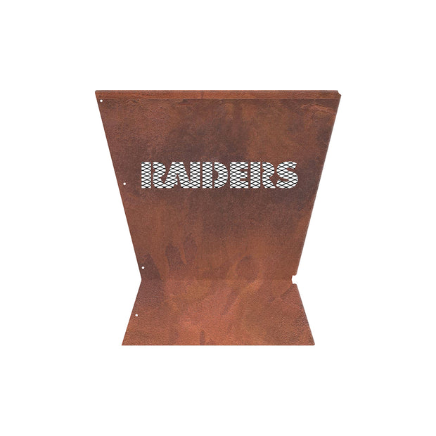 Oakland Raiders Badlands 29.5 in. Square Fire Pit