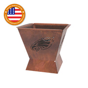 Philadelphia Eagles Badlands 29.5 in. Square Fire Pit