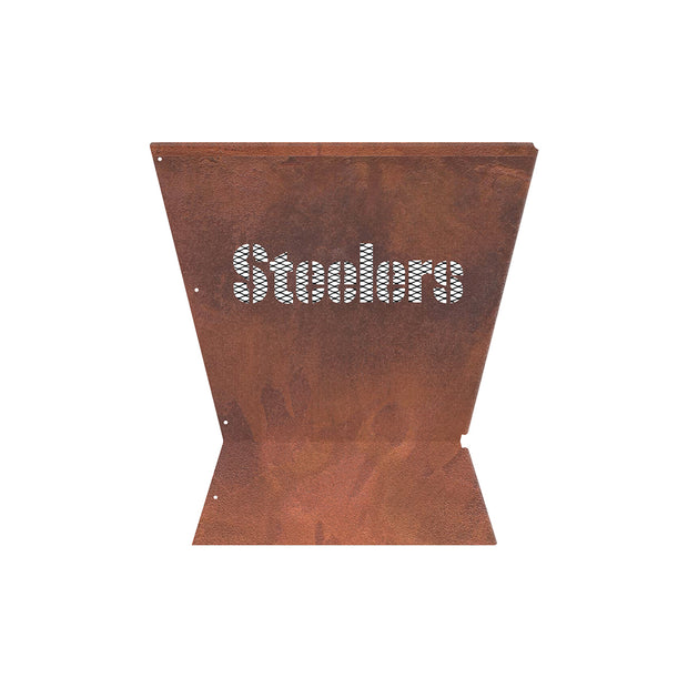 Pittsburgh Steelers Badlands 29.5 in. Square Fire Pit