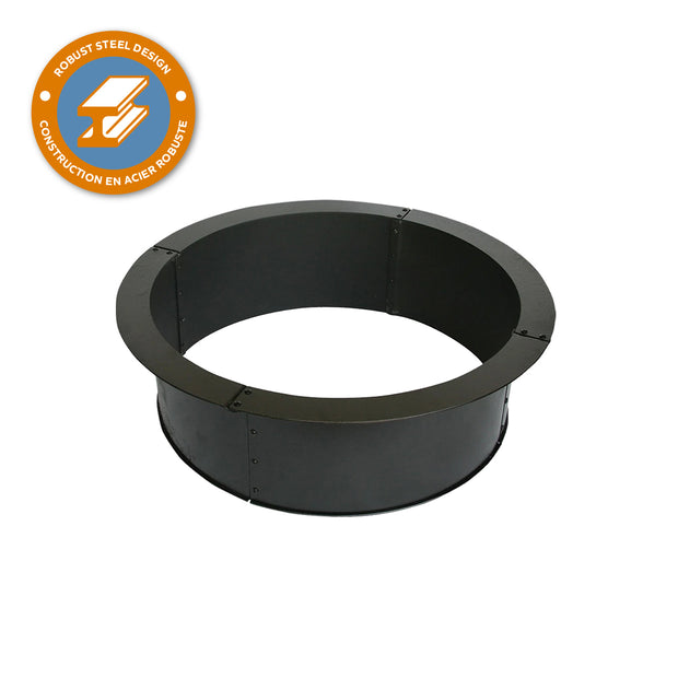 Heavy Gauge 28 in. Round x 10 in. High Fire Ring