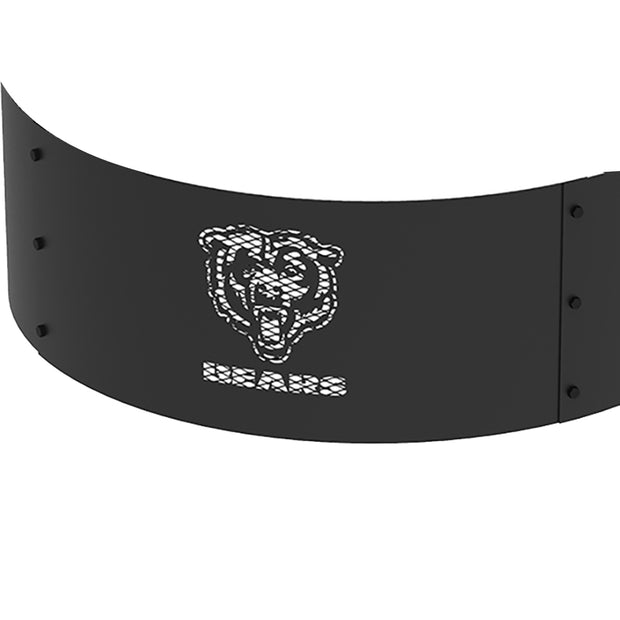 Chicago Bears 36 in. Round x 12 in. High Decorative Steel Fire Ring