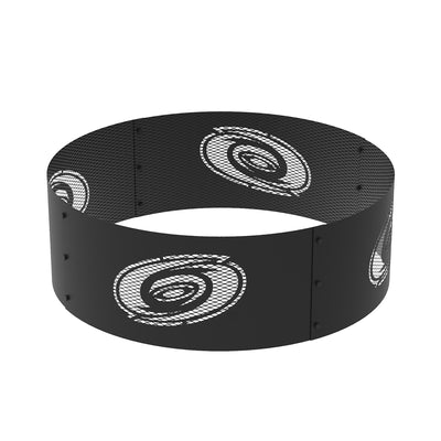 Carolina Hurricanes 36 in. Round x 12 in. High Decorative Steel Fire Ring