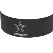 Dallas Cowboys 36 in. Round x 12 in. High Decorative Steel Fire Ring