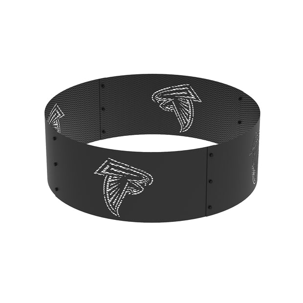 Atlanta Falcons 36 in. Round x 12 in. High Decorative Steel Fire Ring