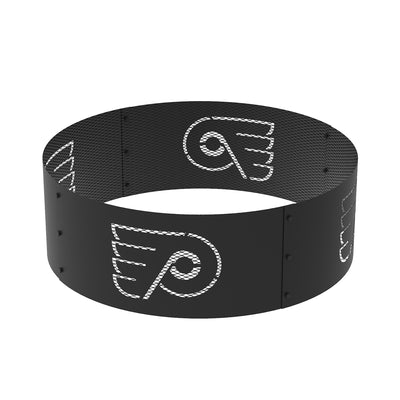 Philadelphia Flyers 36 in. Round x 12 in. High Decorative Steel Fire Ring
