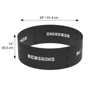 Washington Redskins 36 in. Round x 12 in. High Decorative Steel Fire Ring