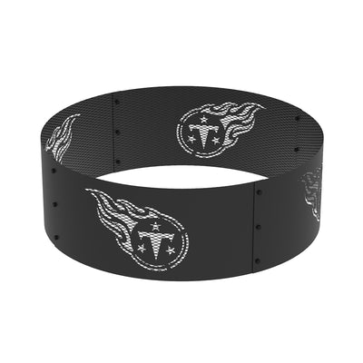Tennessee Titans 36 in. Round x 12 in. High Decorative Steel Fire Ring