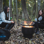 The Ridge Portable Fire Pit with Spark Screen and Poker