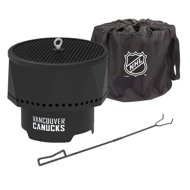 Vancouver Canucks Portable Fire Pit