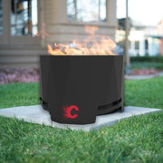 Calgary Flames Patio Fire Pit