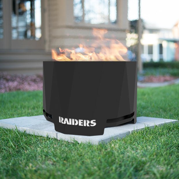 Oakland Raiders Patio Fire Pit