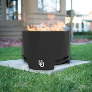 Oklahoma Sooners Patio Fire Pit