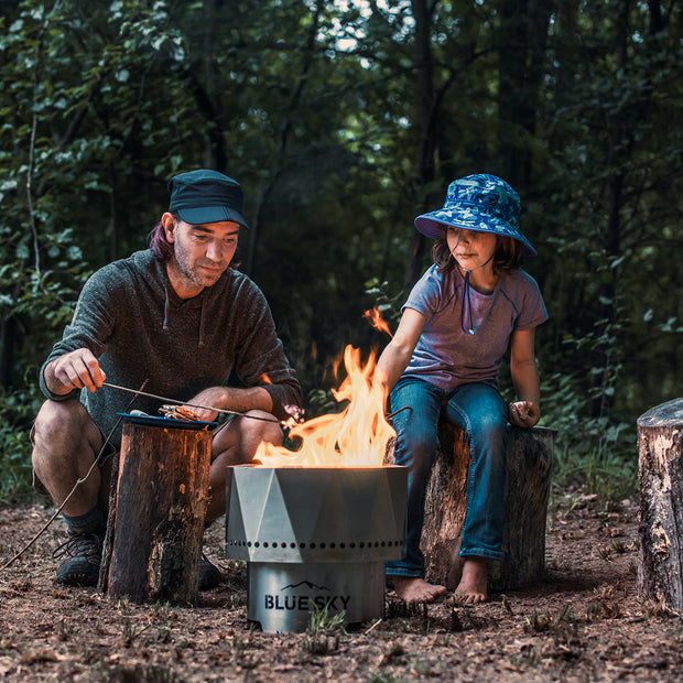 The Ridge Stainless Steel Portable Fire Pit