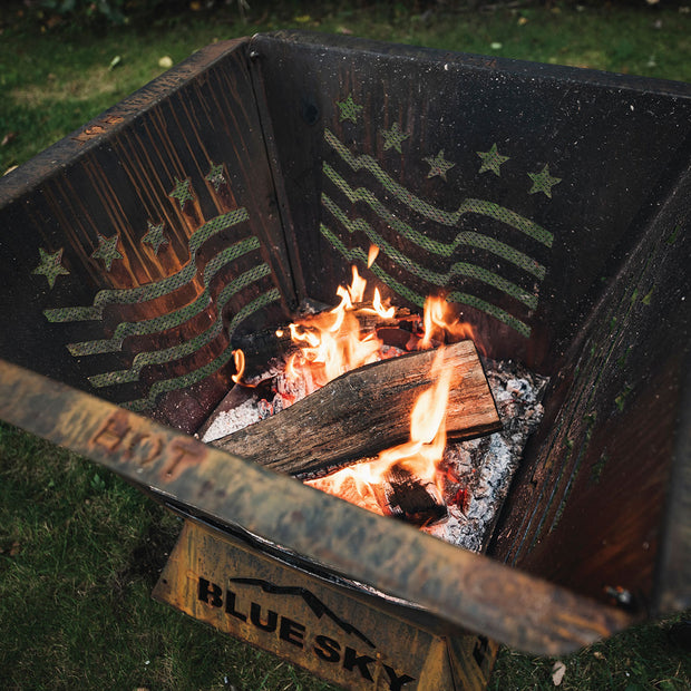 Custom Badlands Fire Pit