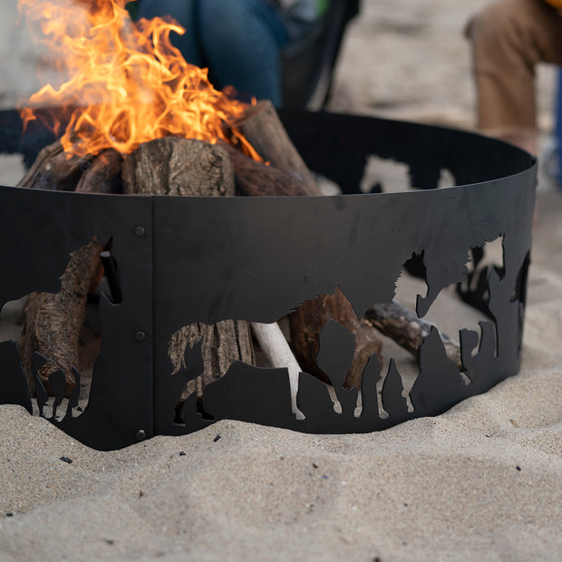 Blue Sky Outdoor Living Portable Fire Pit Ring