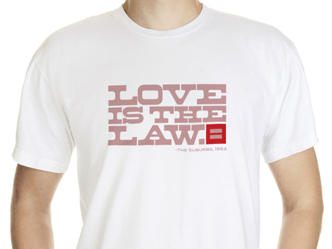 Men's Love is the Law T-Shirt
