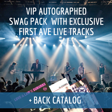 HEY MUSE! VIP Autographed Swag Pack With Exclusive First Ave Live Tracks + Back Catalog Pack