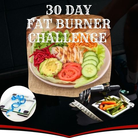 30 Day Fat Burner Challenge | Harnesso.com
