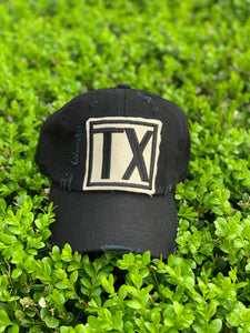 BLACK TX HAT