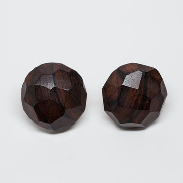 Yves Saint Laurent Vintage Wood Earrings