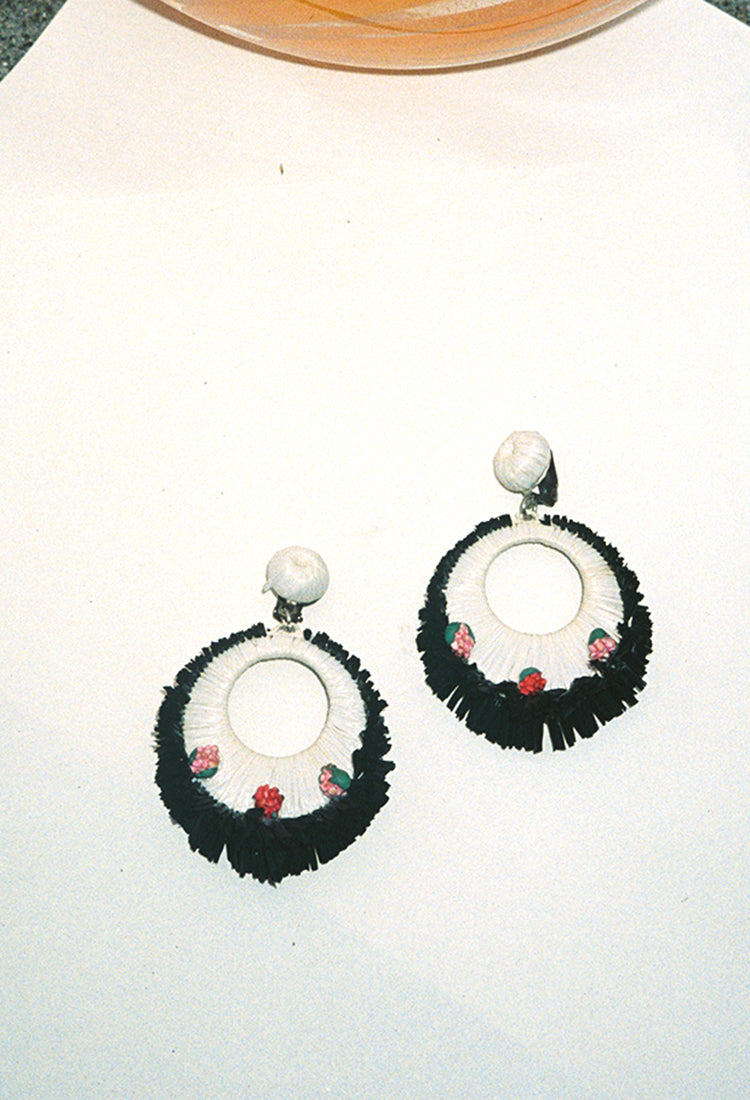 1940s Paper Earrings
