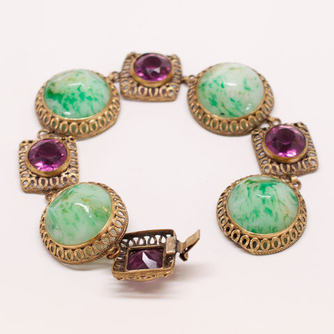 Unsigned French Vintage Bracelet