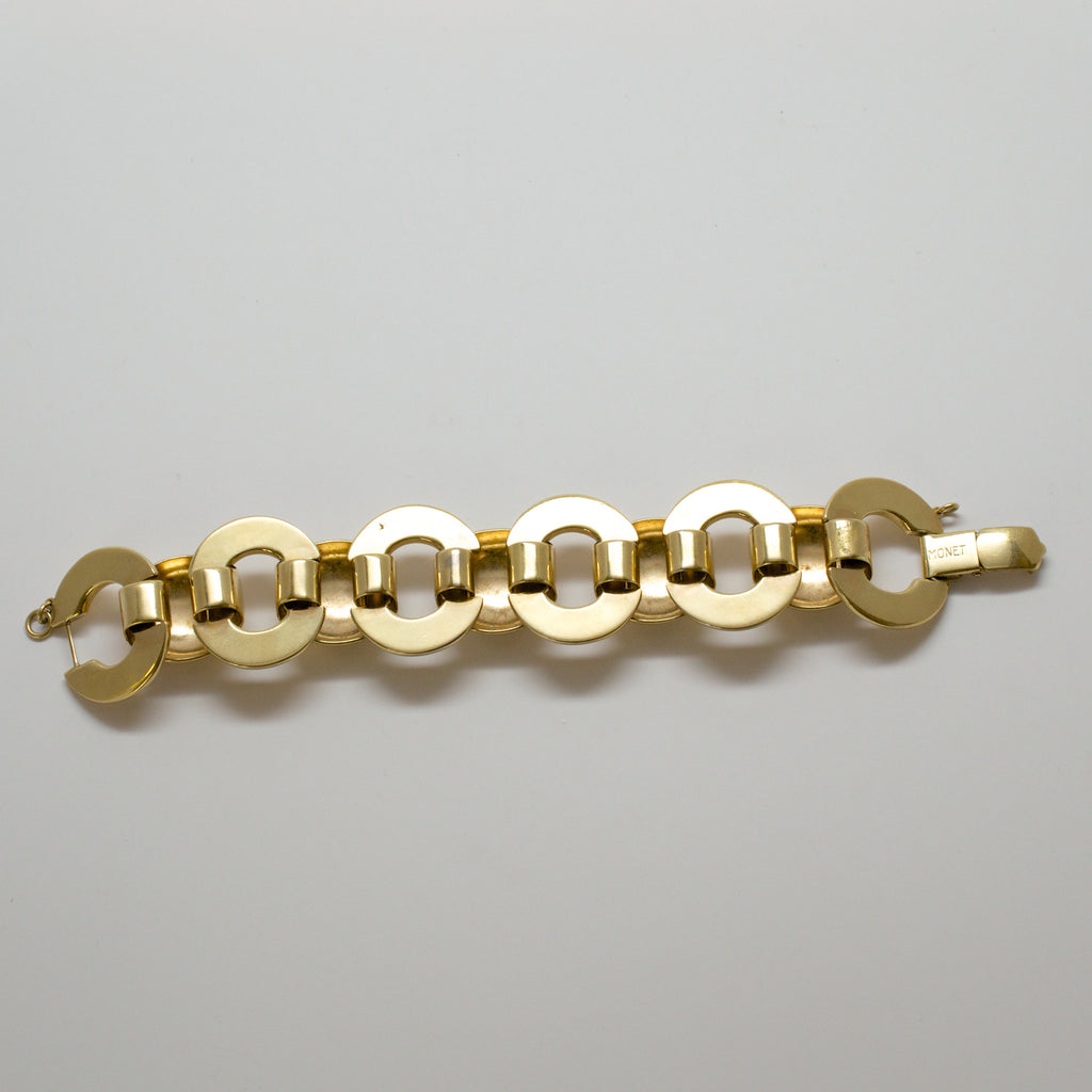 Monet Gold Links Bracelet