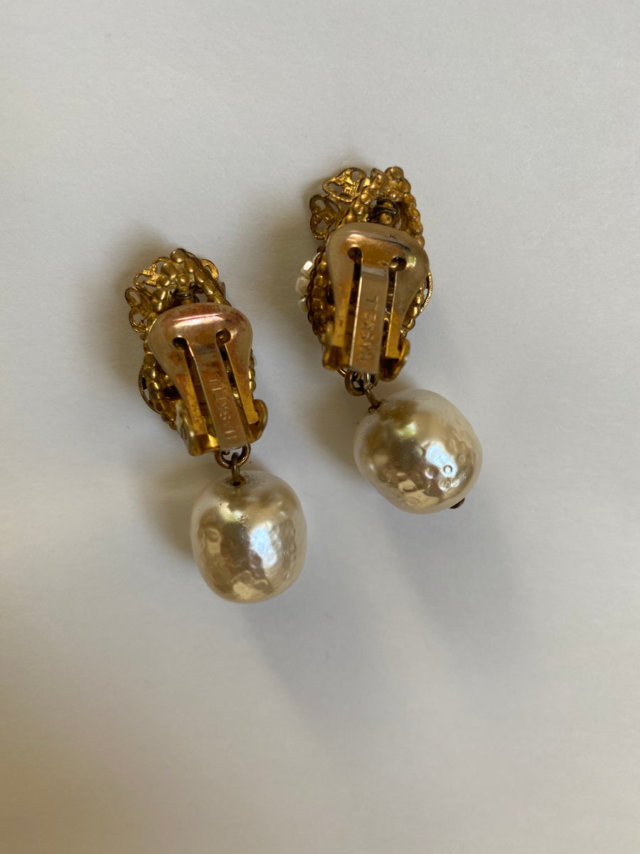 Miriam Haskell Earrings