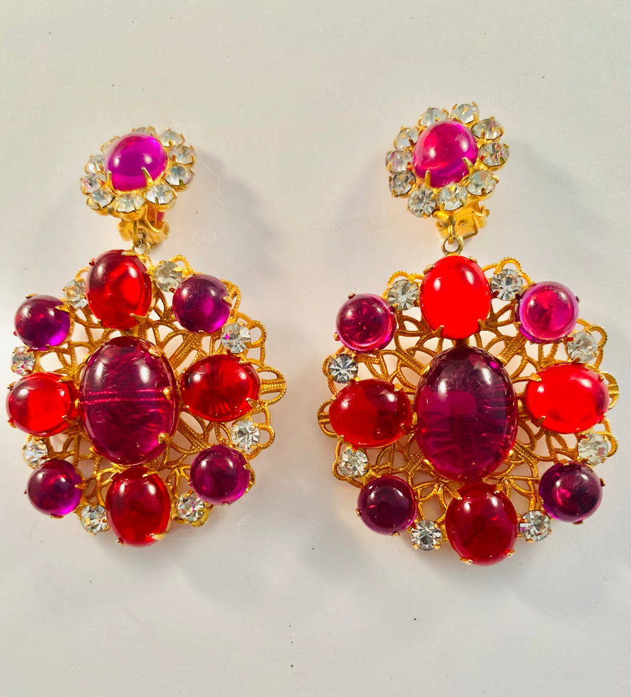 Kenneth Jay Lane Vintage Earrings
